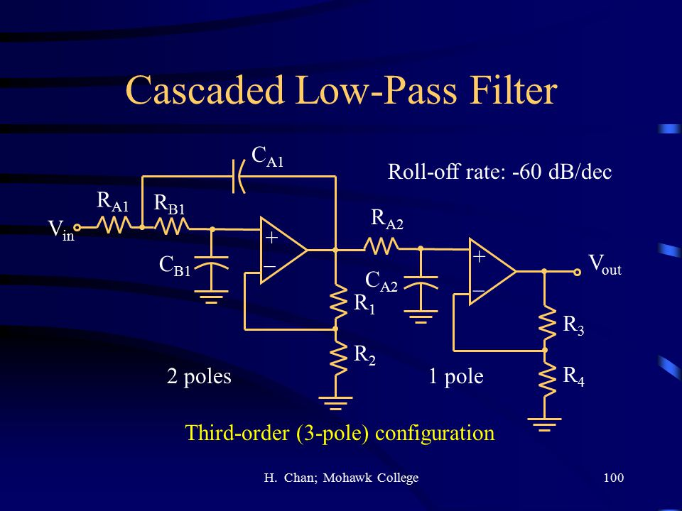 Cascaded Low-Pass Filter