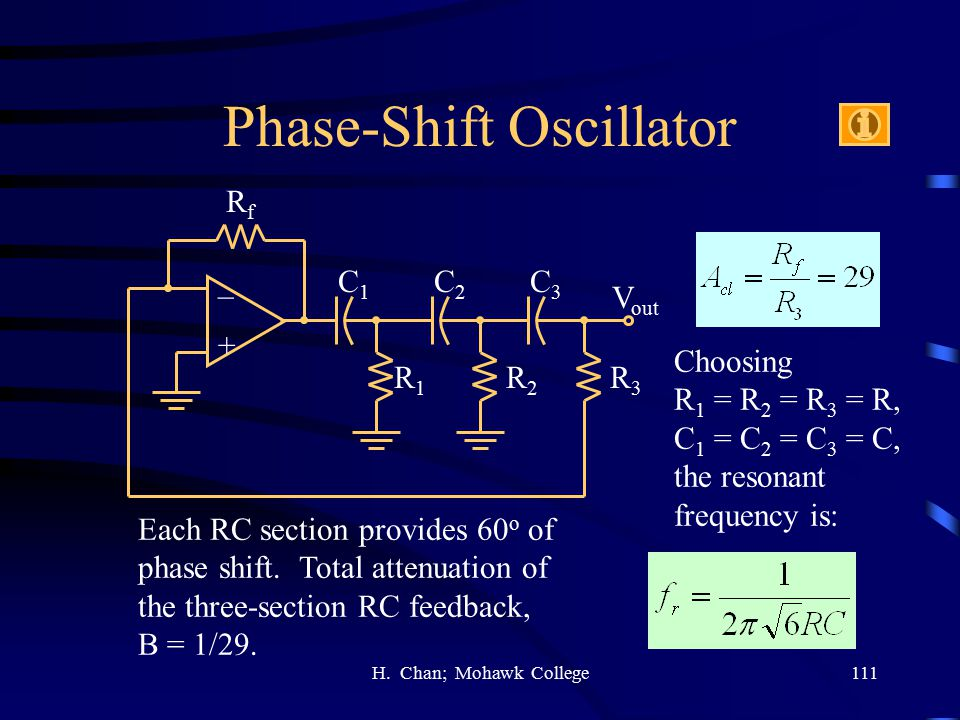 Phase-Shift Oscillator