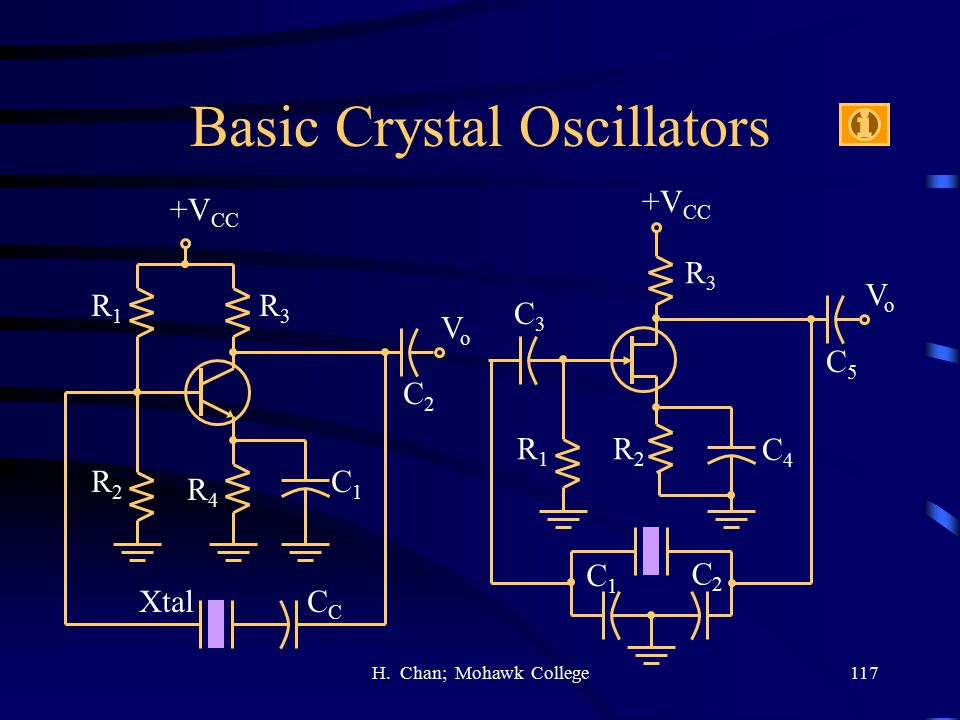 Basic Crystal Oscillators