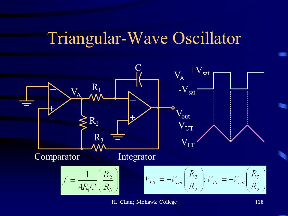 Triangular-Wave Oscillator