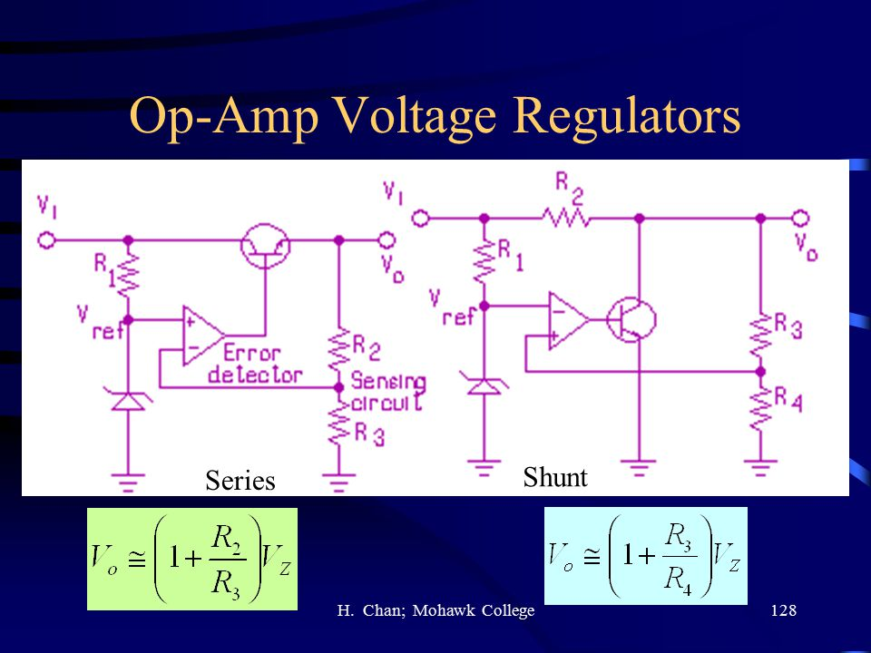 Op-Amp Voltage Regulators