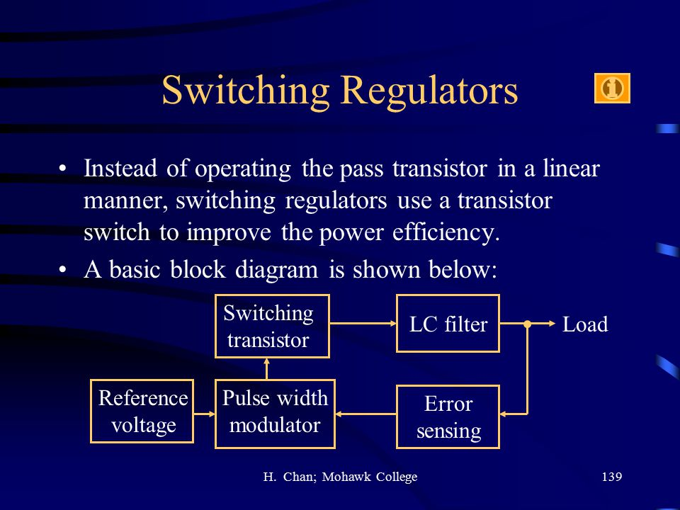 Switching Regulators