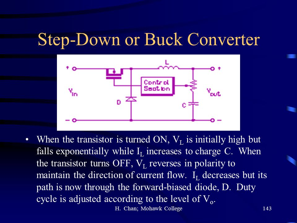 Step-Down or Buck Converter