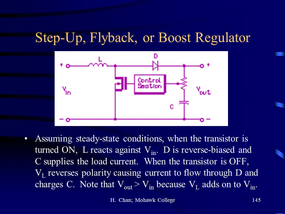 Step-Up, Flyback, or Boost Regulator