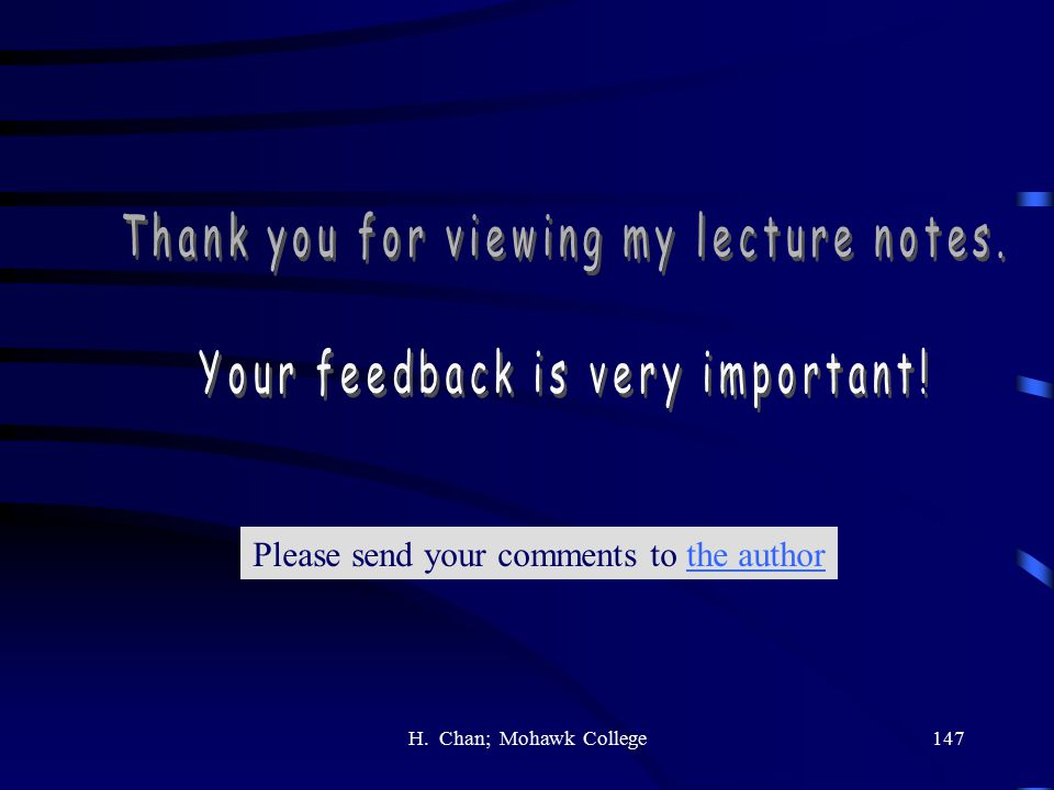 Thank you for viewing my lecture notes.