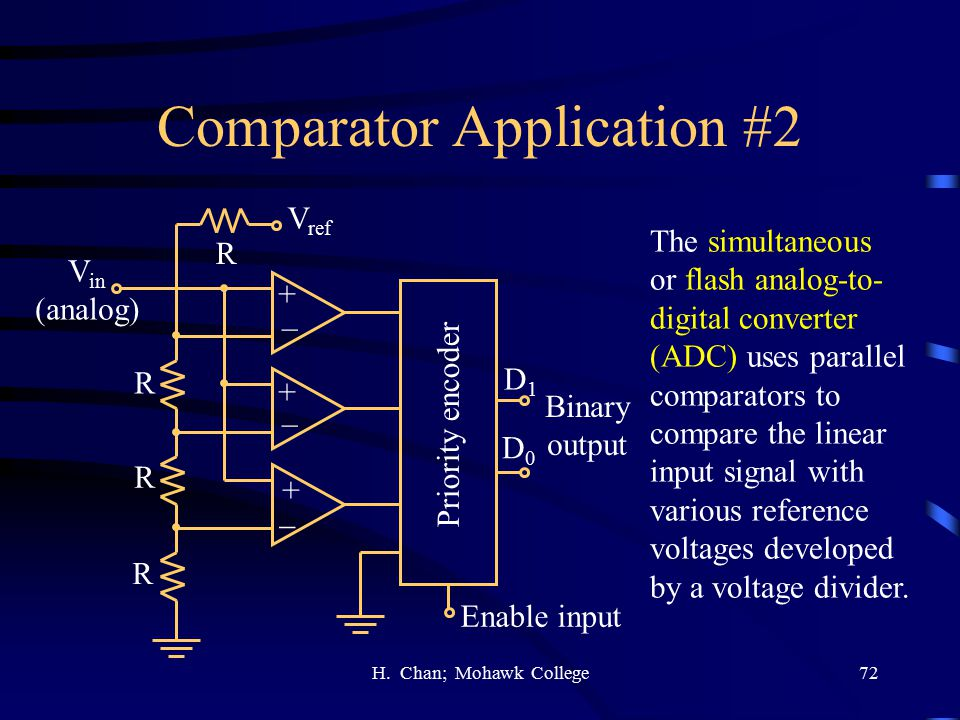 Comparator Application #2