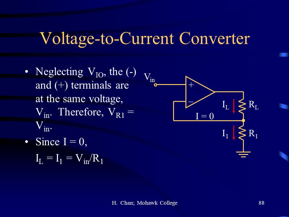 Voltage-to-Current Converter