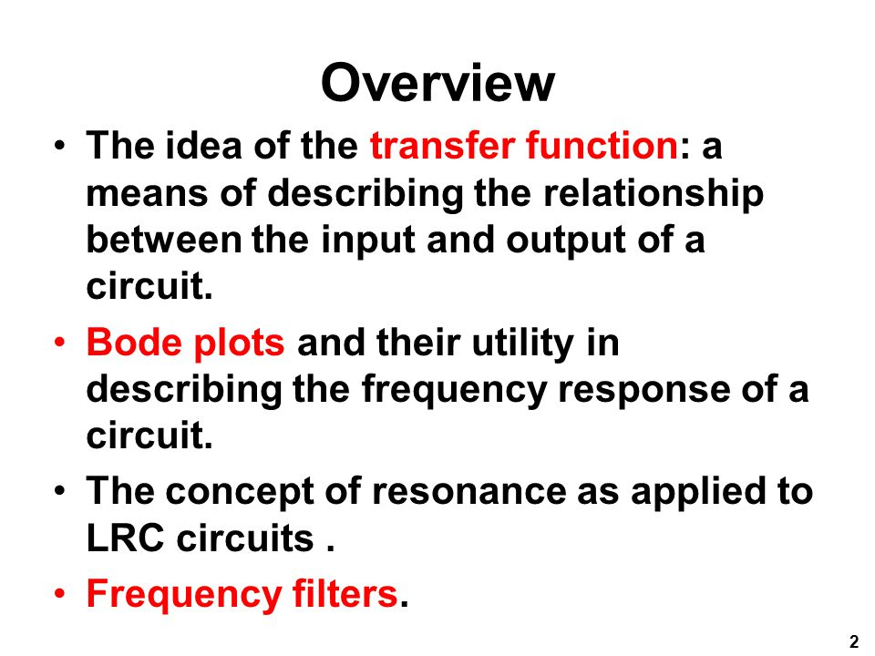 relationship between frequency response and transfer function