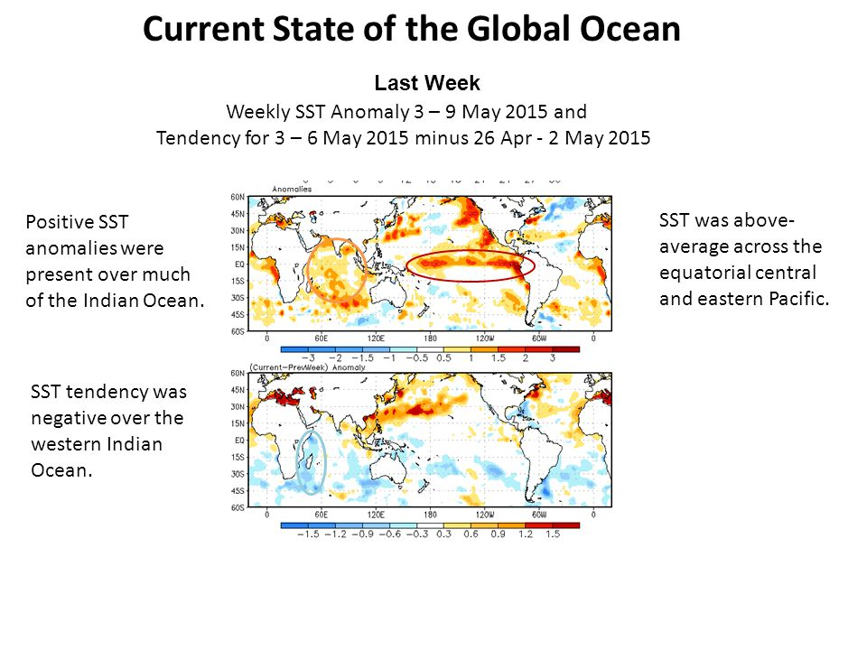 Current State of the Global Ocean