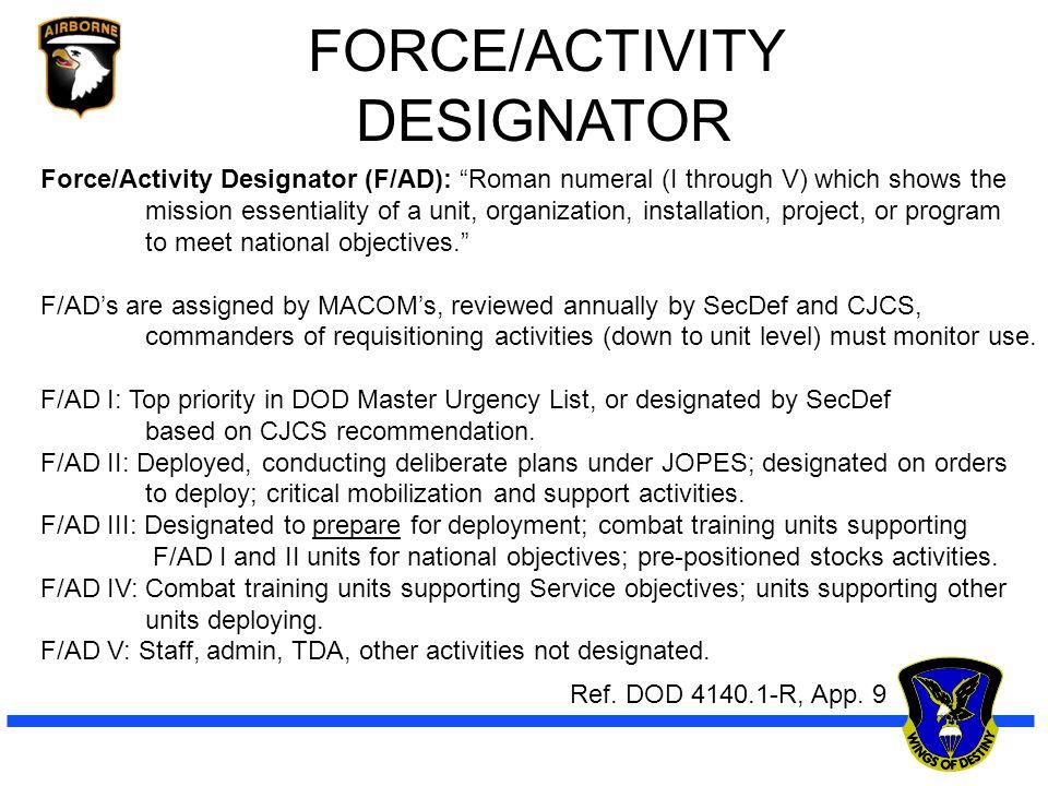 Master S Designated Meaning