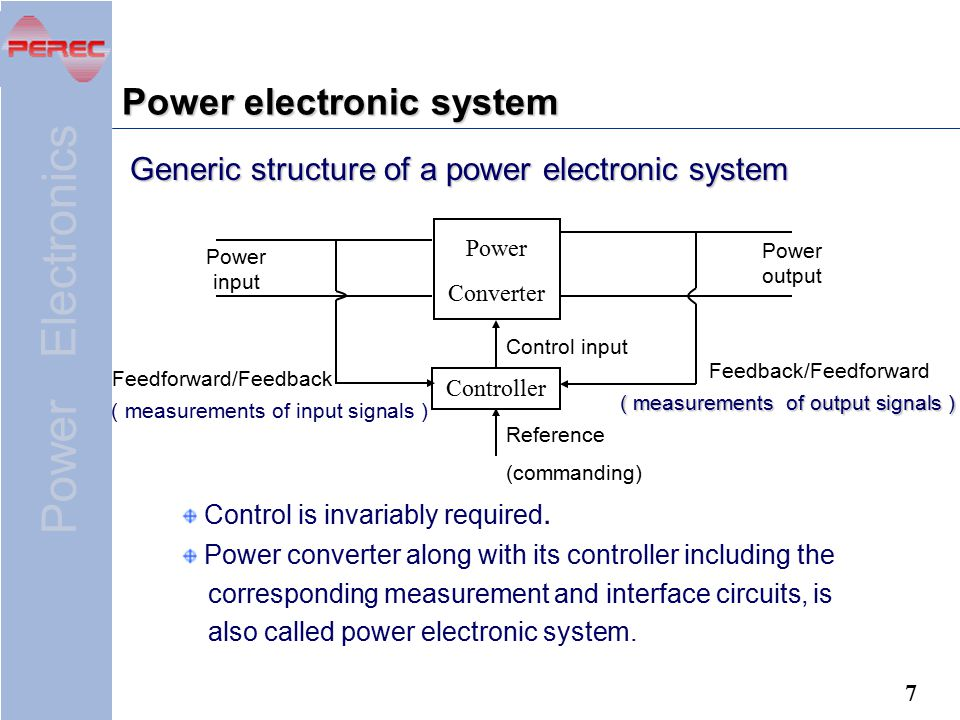 Power electronic system