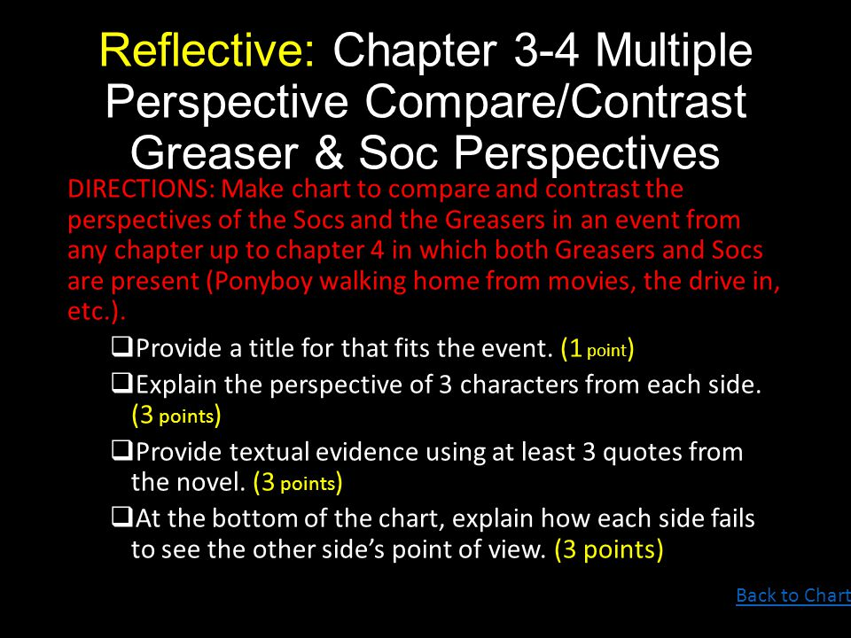 compare and contrast the different perspective There are 5 theories which attempt to understand why we experience emotion  in order to compare and contrast these  similarities between the different.