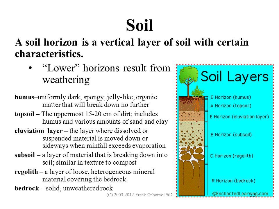 Praxis review for earth science ppt download for What are soil characteristics