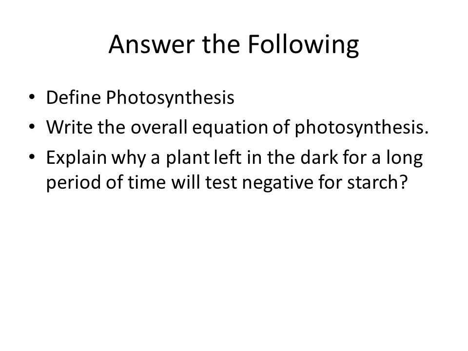 Write The Overall Equation For Photosynthesis Jennarocca – Photosynthesis Review Worksheet Answers