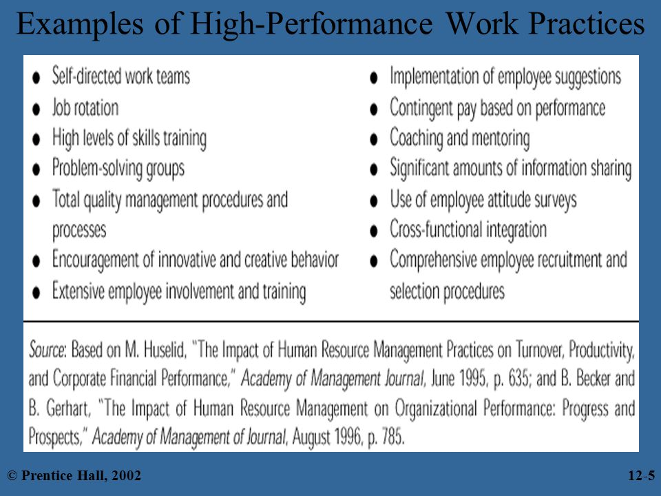 Chapter 12 Human Resource Management Hrm 169 Prentice Hall