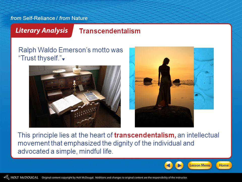 an analysis of the topic of the transcendentalism movement Summary and analysis of the american scholar critical essays understanding transcendentalism influenced the progressive social movement of the mid.