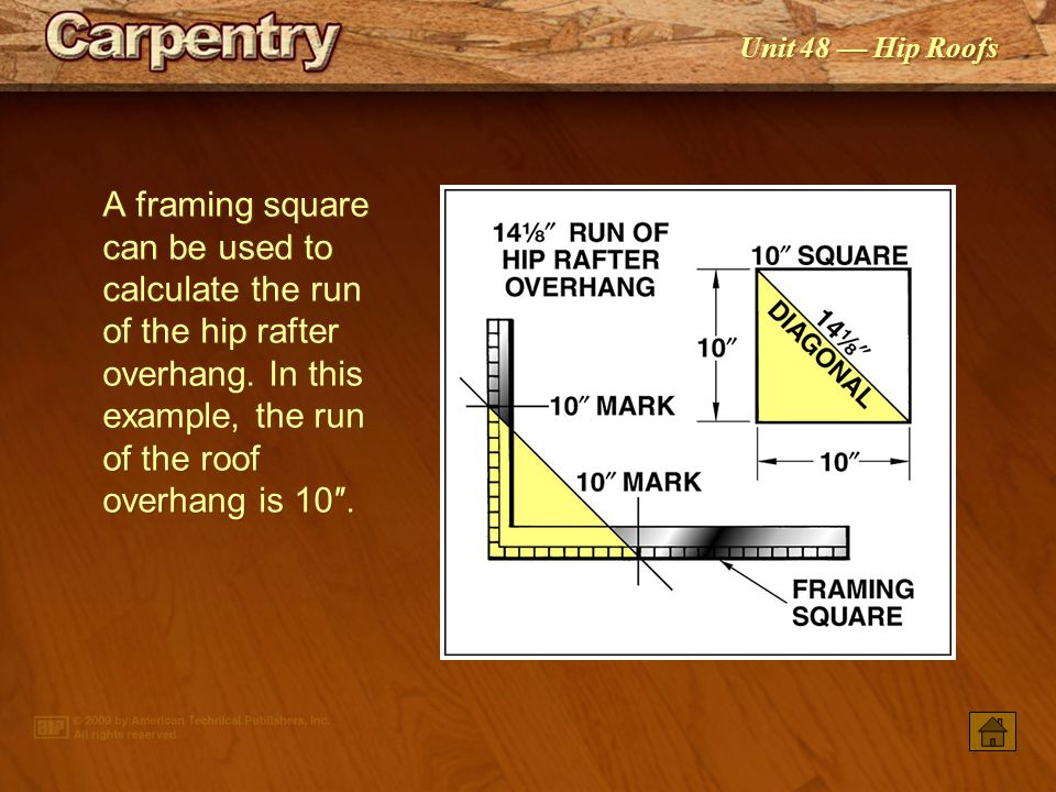 how to read a framing square video