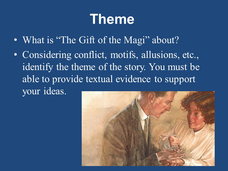 critical appreciation the gift of the magi The gift of the magi summary inroduction: william sydney porter was an american short story writer he acquired the pseudonym from a warder called orrin henry.