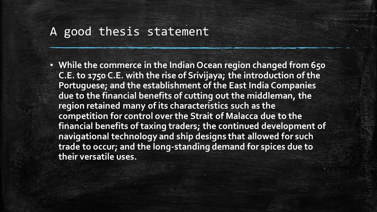 indian ocean commerce 650 to 1750 ce ccot essay Analyze the changes and continuities in trading networks road essay 630 words | 3 pages 1450 ce has its 650 ce and 1750 ce, the indian ocean region.