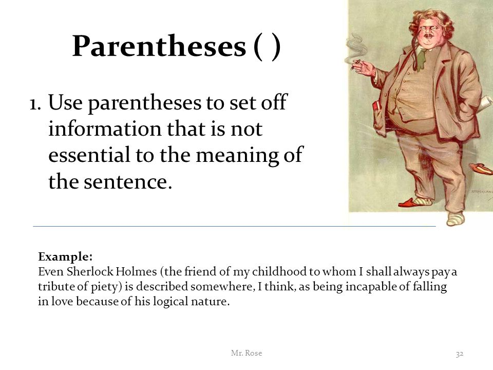 Parentheses - definition of parentheses by The Free