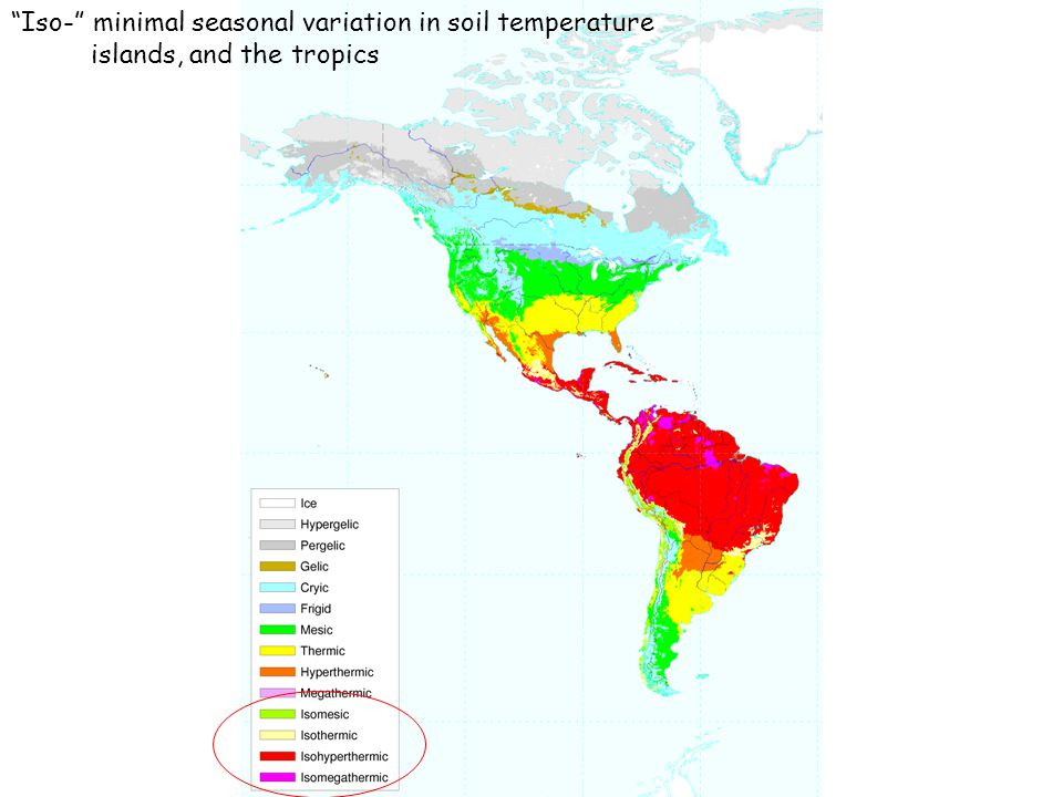 Soil classification and soil maps ppt video online download for Soil temperature