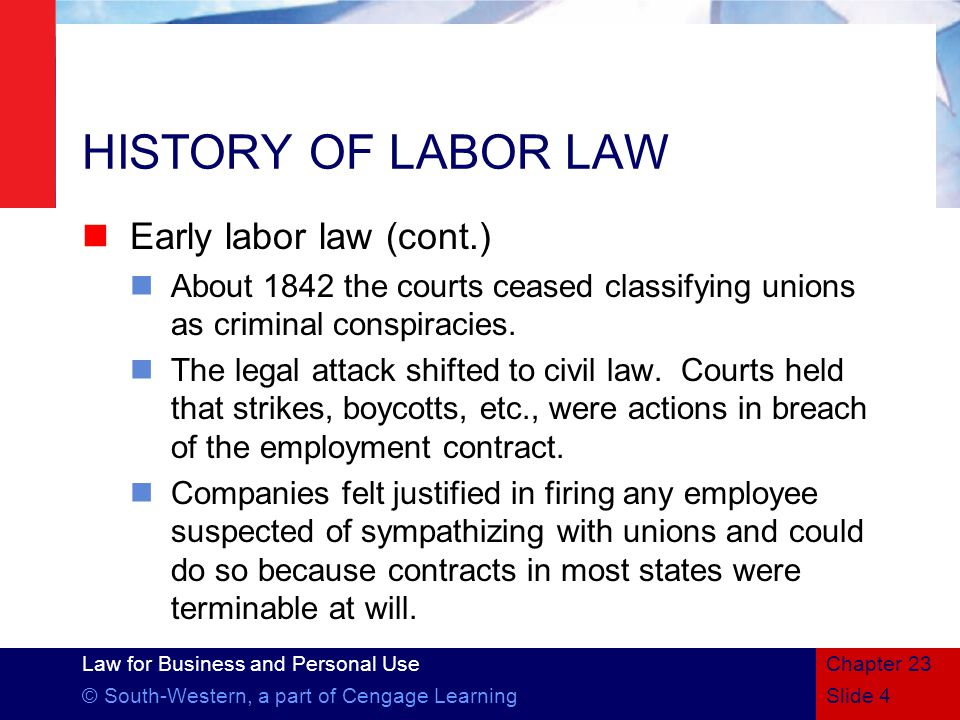 History of Contract Law