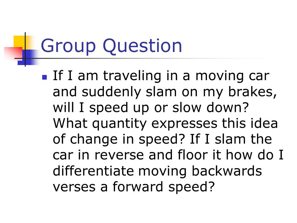 Group Question