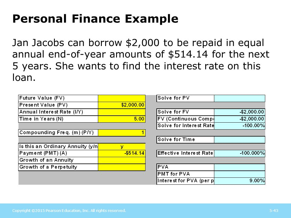 The Role of Time Value in Finance - ppt download