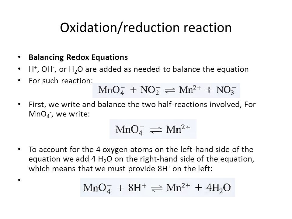 write a reduction half reaction for dichromate