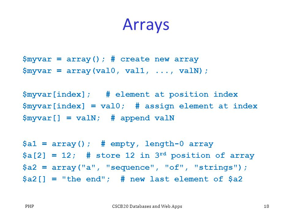 php append array to array