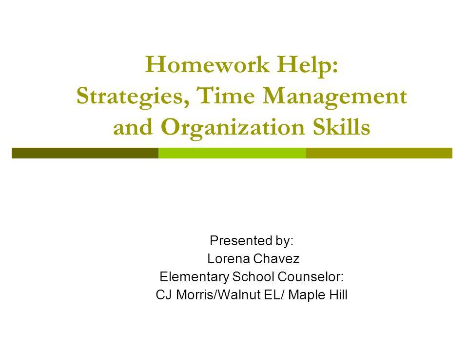 Homework help for elementary