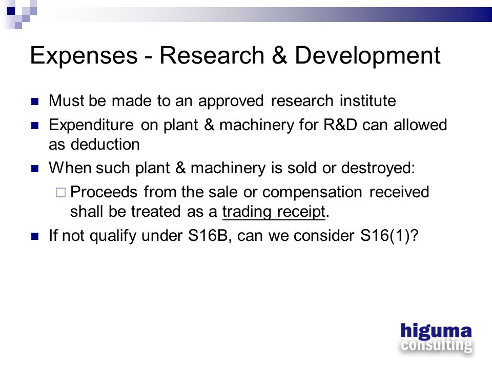 Expenses - Research & Development