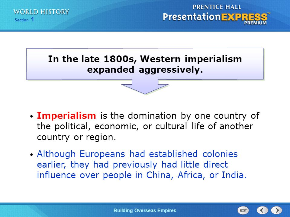 In the late 1800s, Western imperialism expanded aggressively.