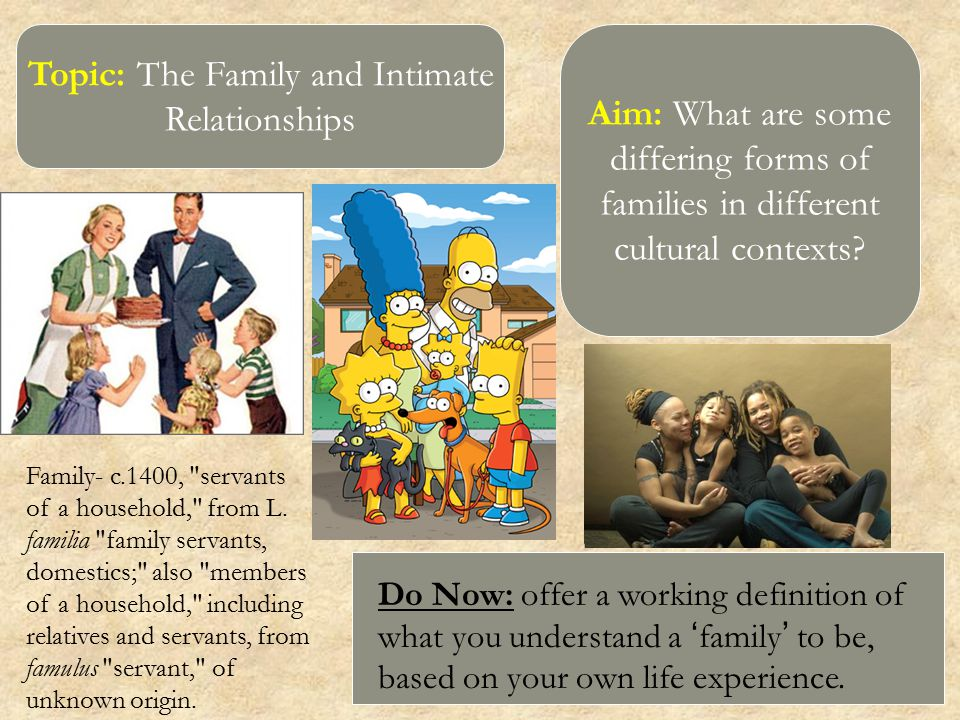 topic family and life Work-family balance is a concept involving proper prioritizing between work/career and family life it includes issues relating to the way how work and families intersect and influence each other at a political level, it is reflected through policies such maternity leave and paternity leave.