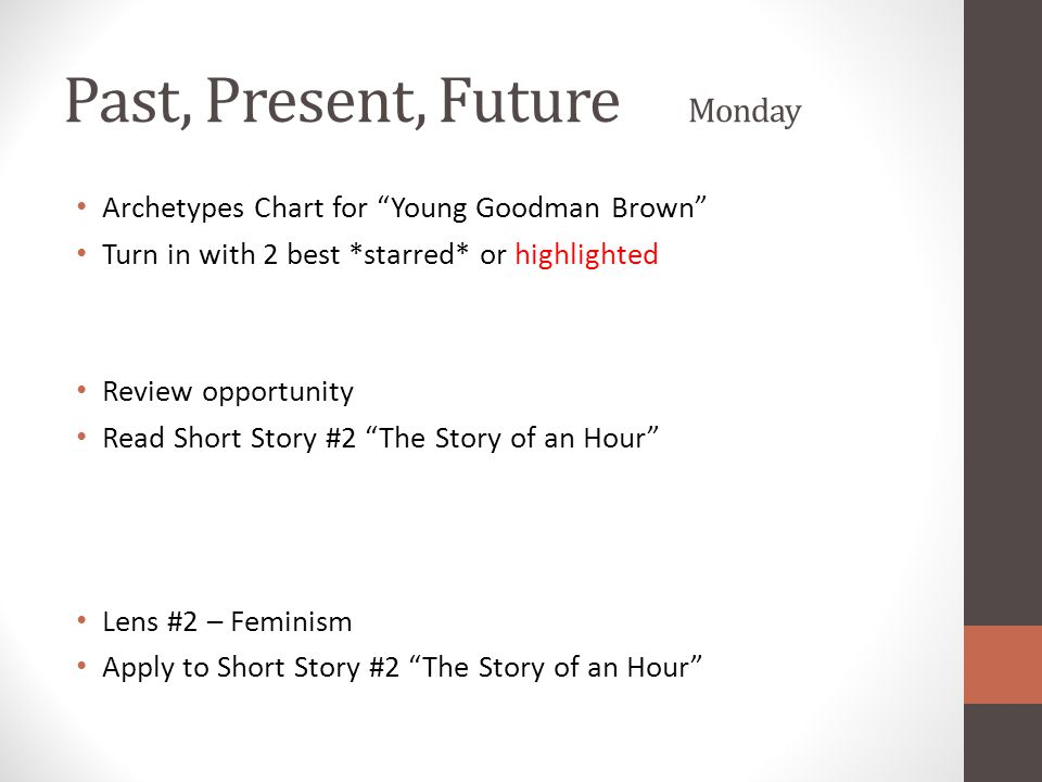 archetypal analysis of young goodman brown