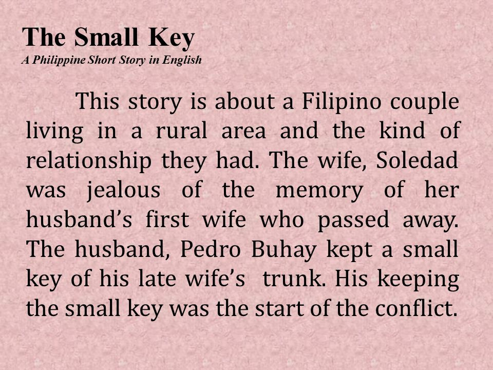 the small key story The year is 1863 an excited young couple stands at the head of the aisle in a  small church, ready to begin their life together as a new family.