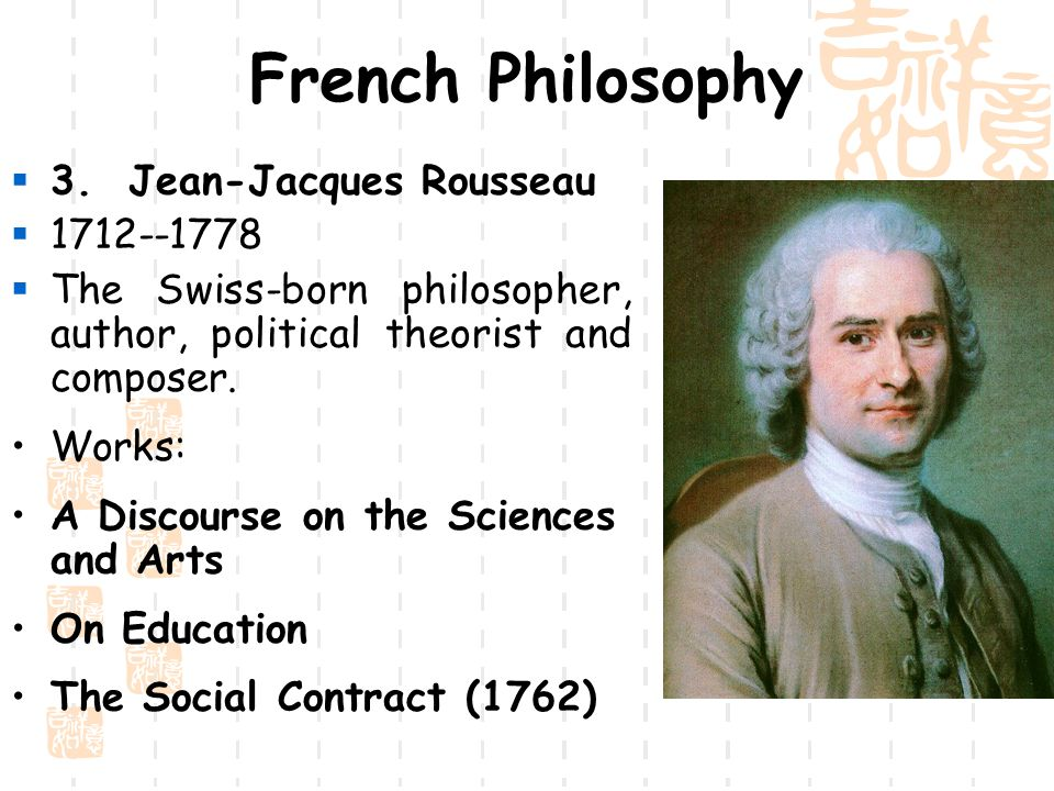 Rousseau thesis statements