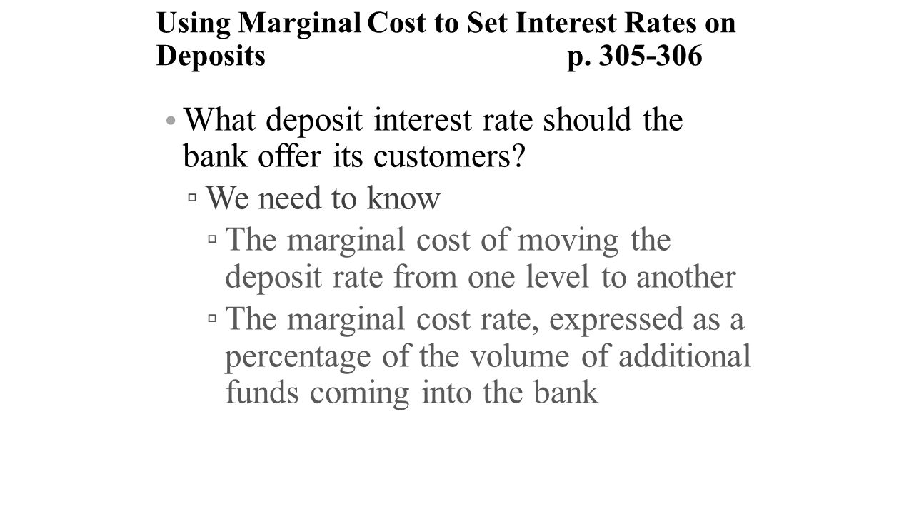 deposit interest rates