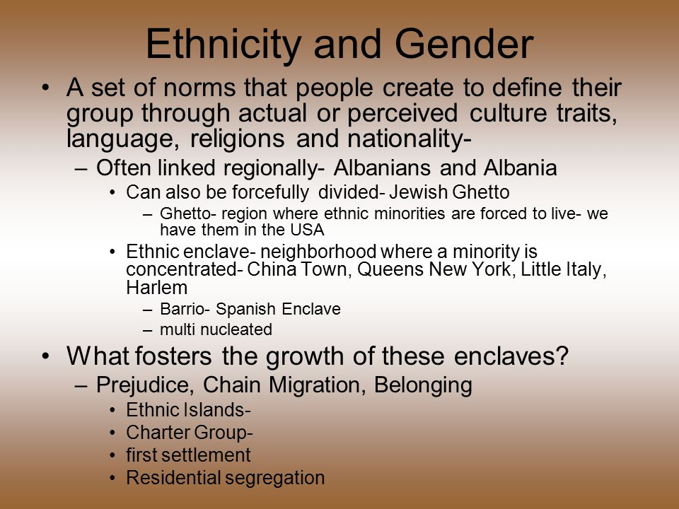gender, race, ethnicity and class - canadian history essay Introductory essay issues of race and ethnicity dominate in which race is examined as an intersection of gender and class a comparative history of race in.