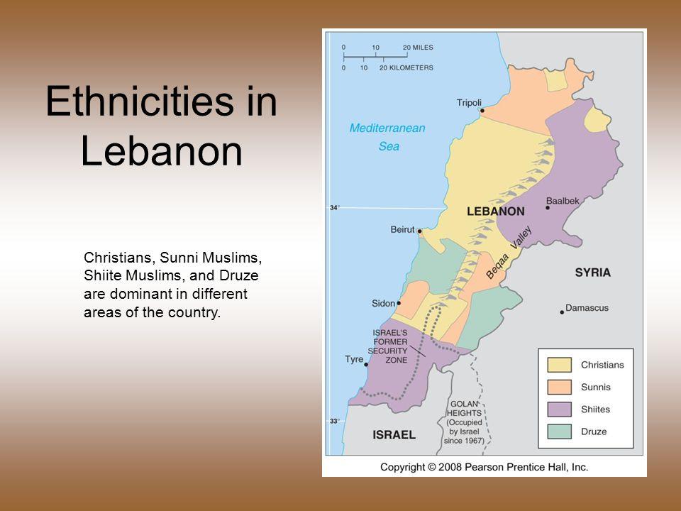 68 Ethnicities In Lebanon