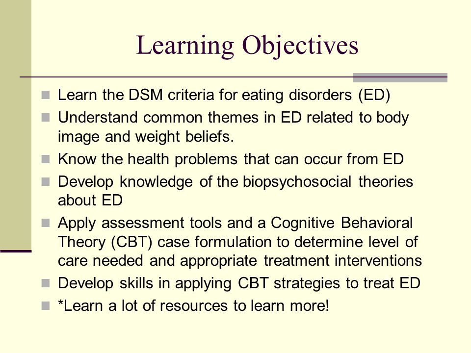 eating disorders biopsychosocial model Predisposing traits and precipitating factors increase risk, challenge recovery reprinted from eating disorders review may/june volume 27, number 3 ©2016 iaedp dr guido k w frank, director of the developmental brain research program at the university of colorado, has proposed a biopsychosocial risk model to explain why patients develop and maintain eating disorders.