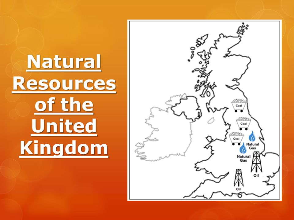 Natural Resources of the United Kingdom