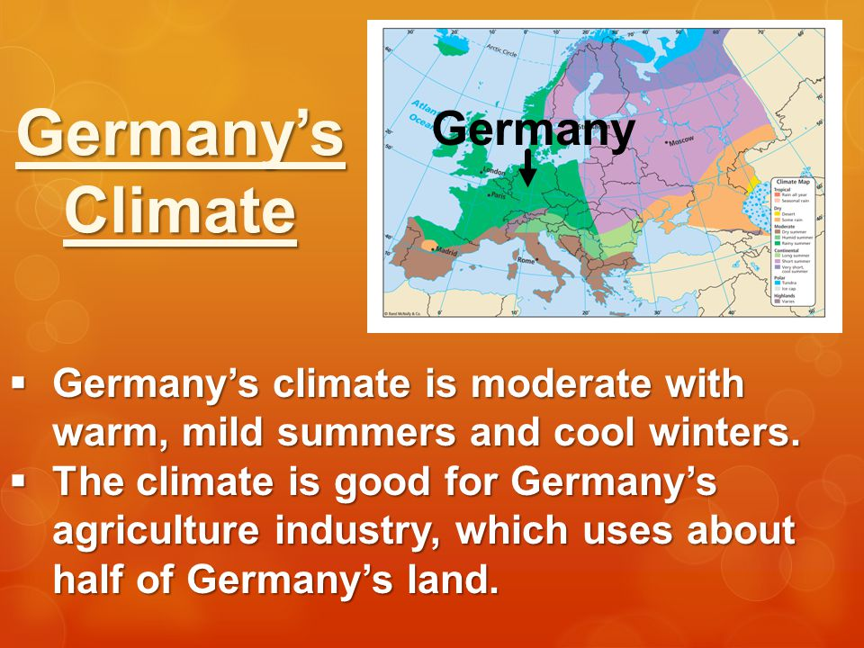 Germany's Climate Germany