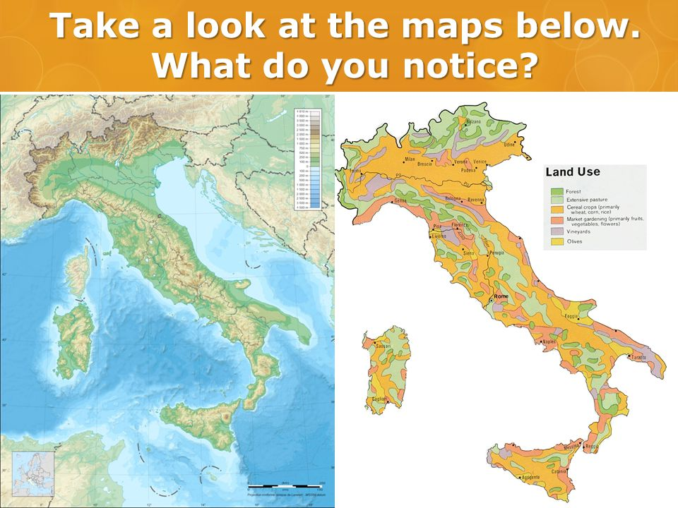 Take a look at the maps below. What do you notice