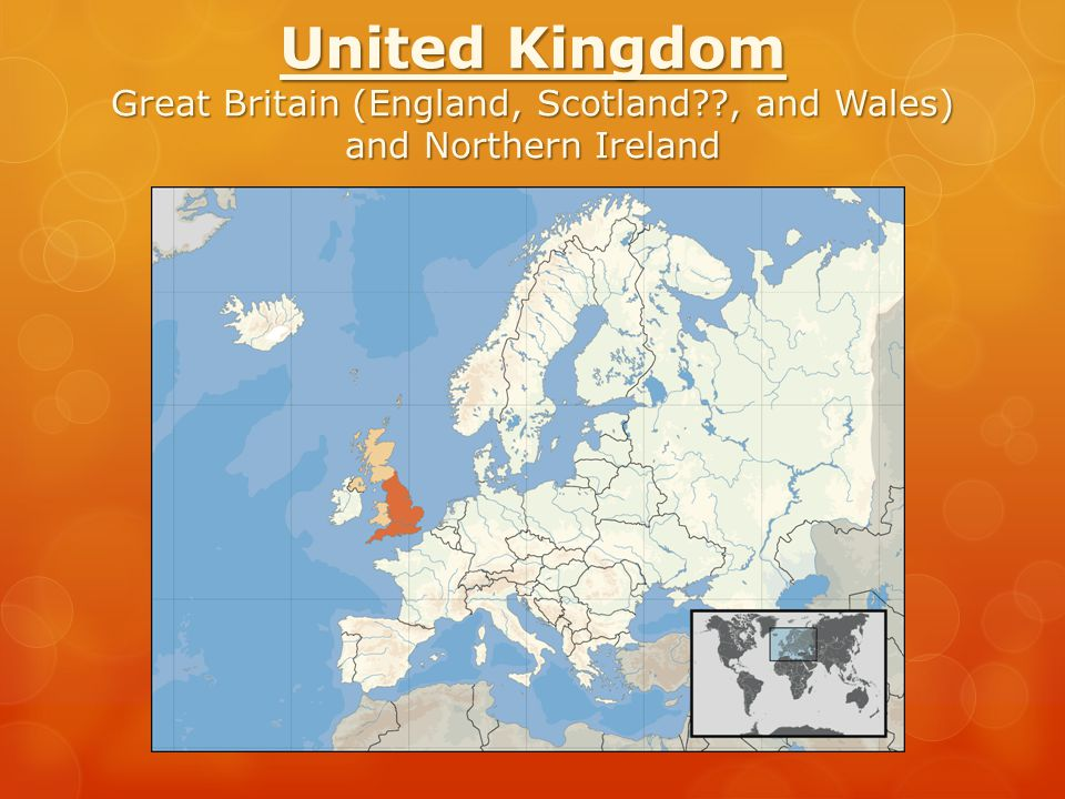 United Kingdom Great Britain (England, Scotland