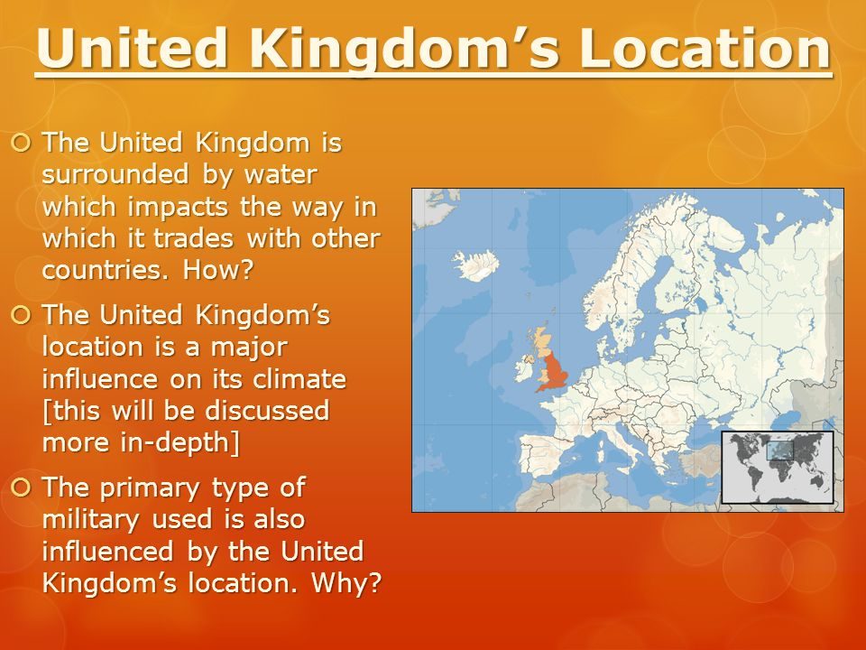 United Kingdom's Location