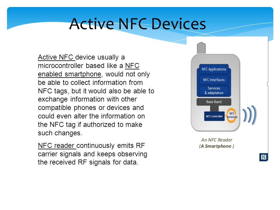 Active NFC Devices