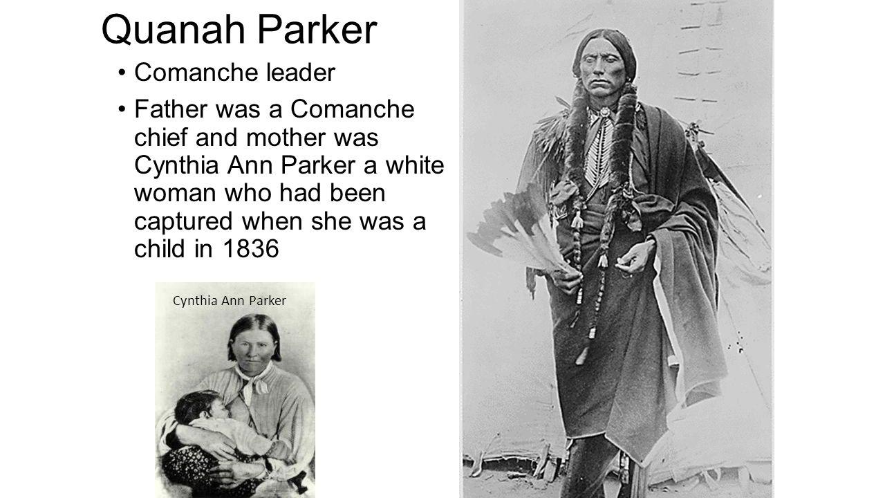 Quanah Parker Comanche leader