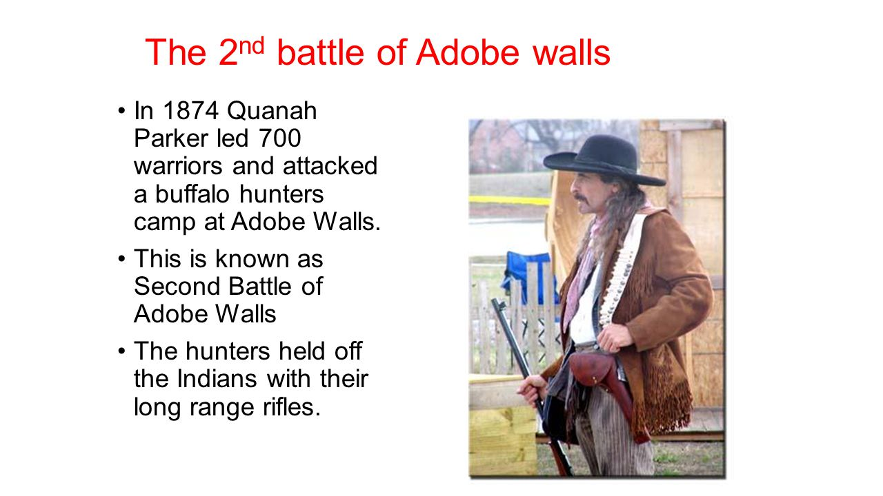 The 2nd battle of Adobe walls