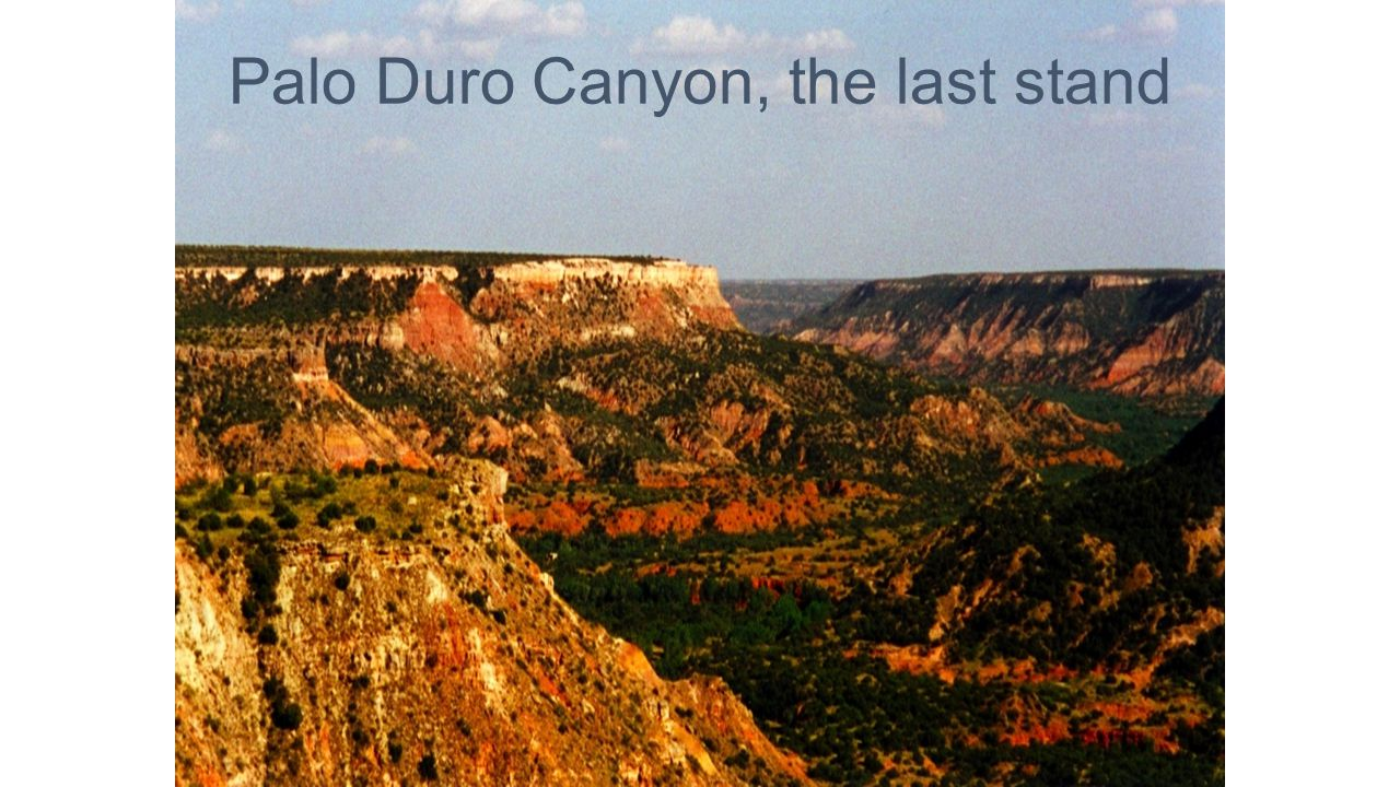 Palo Duro Canyon, the last stand